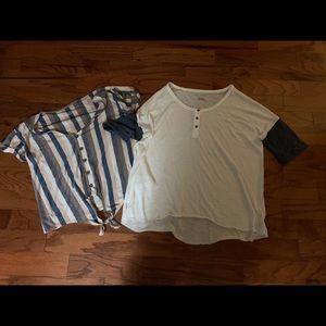 American Eagle shirts-size medium